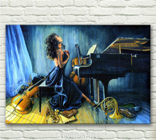 Grohandel music canvas aus