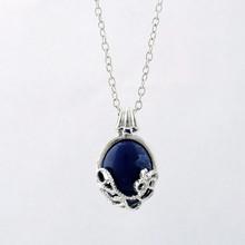 New women girl Fashion Dress Populer High Quality Jewelry 1Pc Rhinestone Gem Pendant Necklace Collar Bohemian