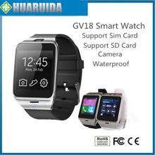 NFC Aplus GV18 Smart watch phone GSM NFC Camera wrist Watch SIM card Smartwatch for Samsung Android Phone PK dz09 gto8