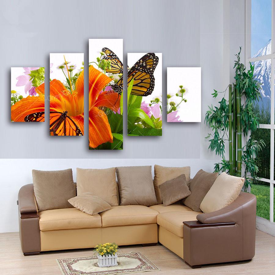 Online Get Cheap Butterfly 3d Canvas Art -Aliexpress.com | Alibaba ...