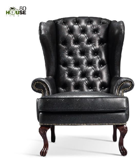 furniture lazy sofa single leather art sofa leisure chair sofa