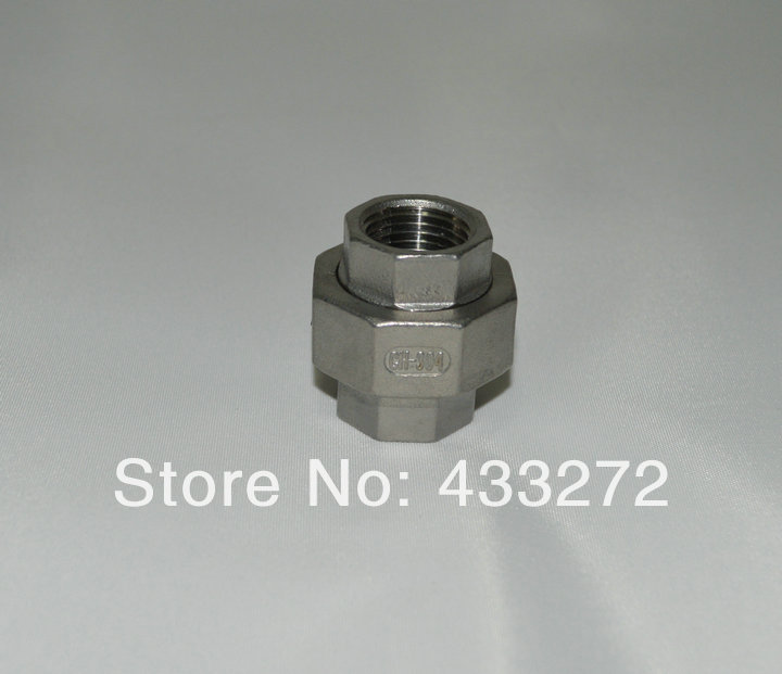 1/2 inch BSP Female 304 Stainless Steel Union Pipe Fittings Connector Tube - Homebrew Supply store