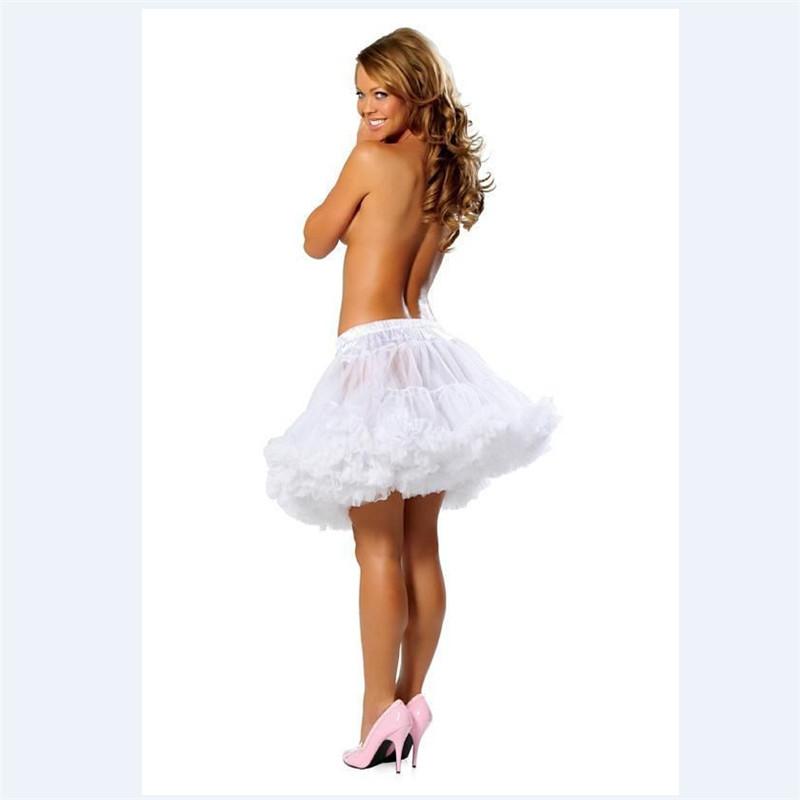 Гаджет  HOT Sale Tulle Layered Short  Petticoat Slip Crinoline White Black Red Purple One Size or Plus None Одежда и аксессуары
