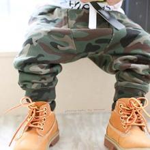 Boys Girls Harem Pants Camouflage Fashion Harem Pants For Children Cotton Clothes Trousers(China (Mainland))