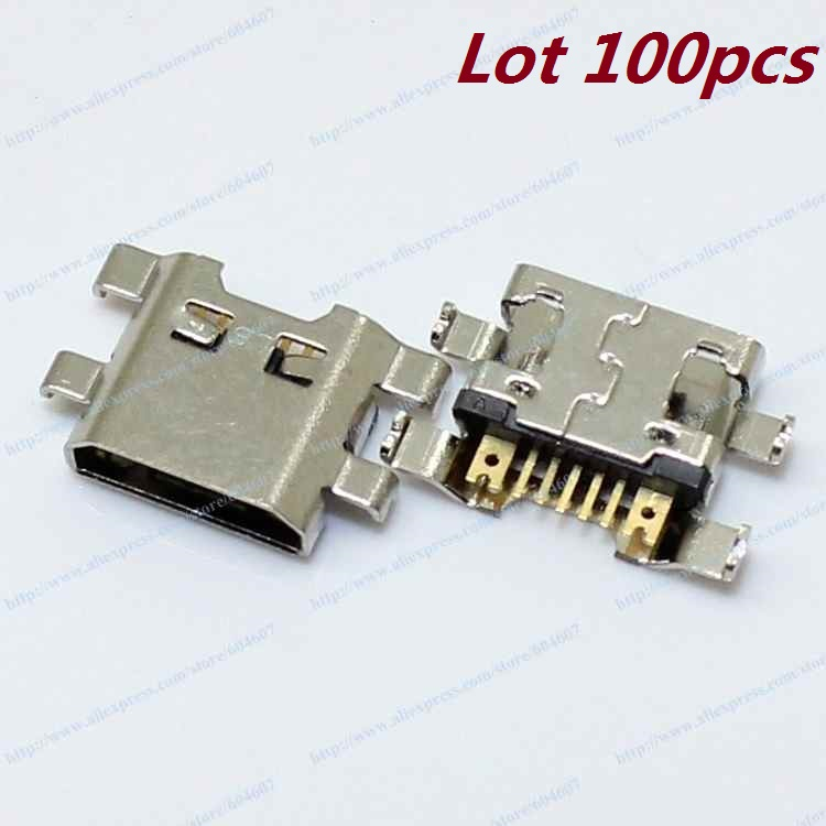 Lot 100pcs New OEM Charging Connector Micro USB Port Dock Connector For LG G3 Vigor Sprint LS885 Phone(China (Mainland))