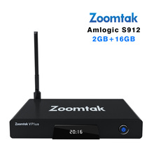 Buy Zoomtak V plus Android 6.0 tv box 2gb RAM 16gb ROM KODI 17.0 Octa core Amlogic s912 support Bluetooth 4.0 H.265 UHD 4K Player for $74.20 in AliExpress store