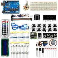 Brand New Advanced Version Starter Kit the RFID learn Suite Kit LCD 1602 for Arduino UNO R3 Free Shipping(China (Mainland))
