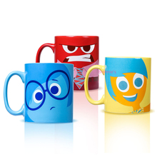 Inside Out Mugs X3 - 3 Pieces/Set - 400ml 9.7*8.2cm Inside Out Cups Figures Toys Free Shipping(China (Mainland))