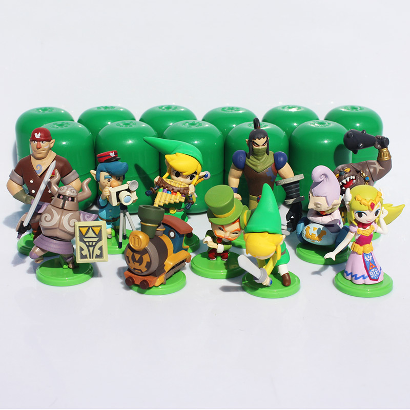 EMS 30PCS/Lot Furuta Choco Egg The Legend of Zelda Mini Figure Set of 11 loose part Free shipping<br><br>Aliexpress