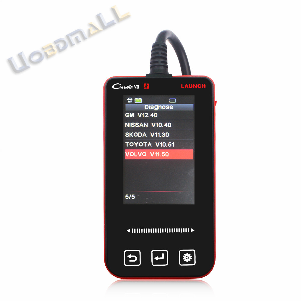 DIY User For Volvo XC60 XC90 S60 S40 S80 V40 V50 V70 X431 Creader VII ABS Airbag Full System Fault Code Reader Update Online(China (Mainland))