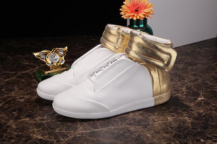 Nuovo 2016 men's shoes di alta cima tendenze moda popolare giallo scarpe da uomo 38 - 47 fashion boot free shipping hogan scarpe uomo