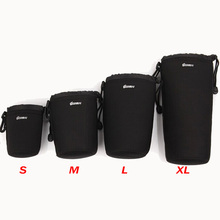 Buy Neoprene waterproof Soft Camera Lens Pouch bag Case Sony Canon nikon pentax inner bag waterproof package for $4.90 in AliExpress store