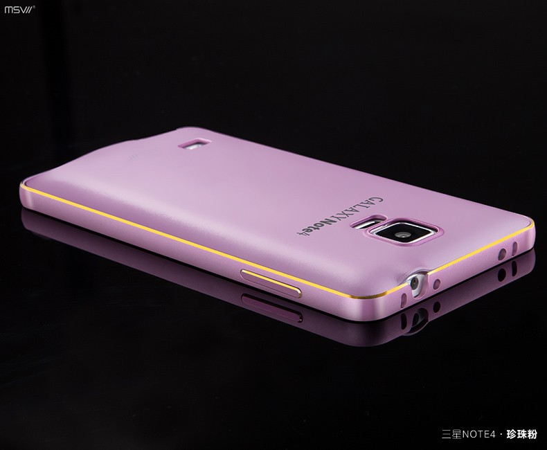 note 4 gold edge bumper+cover-14