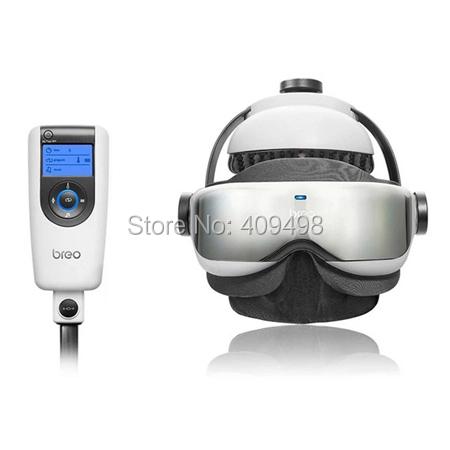Breo iDream1260 air pressure vibration far infrared ray adjustable music head massager eye neck massage(China (Mainland))