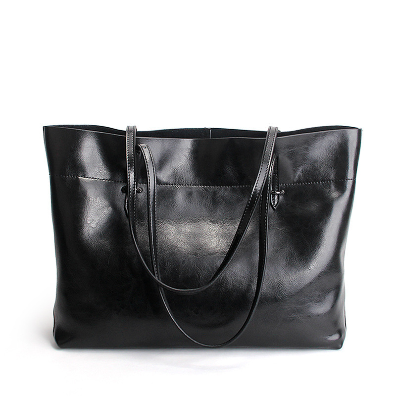 Фотография REGEM 2016 handbags women fashion Genuine leather Tote shoulder Bag top-handle