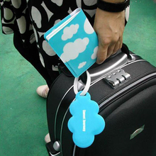 Wholesale Passport Cover Passport Holder Luggage Tag Silicone Strap Love And Clouds Two Kinds Of Styles