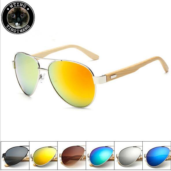 Bamboo Driver Sunglasses Men Wood Sunglass Oculos De Sol Masculino Wooden Glasses Women Brand Designer Gafas Man Drive Eyewear(China (Mainland))