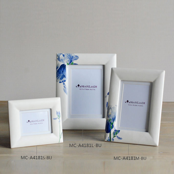 Europe style ceramic photo frame/Home decor photo frame/Personality frame/Head ornaments(China (Mainland))