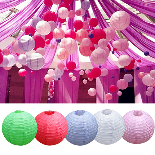 """New Promption Wedding Party Engagement Decoration Round Chinese Paper Lantern 8"""" 10"""" 12"""" H9MN(China (Mainland))"""