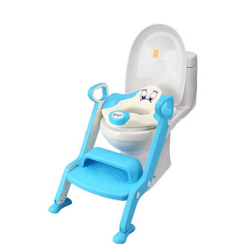 Baby Potties Children Toilet Seat Cover Kids Ladder Folding Baby Toilet Seat Children Toilet Training Basin Portable Baby Potty<br><br>Aliexpress