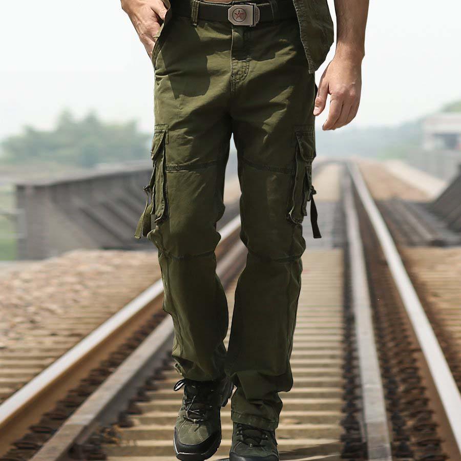 high end cargo pants - Pi Pants