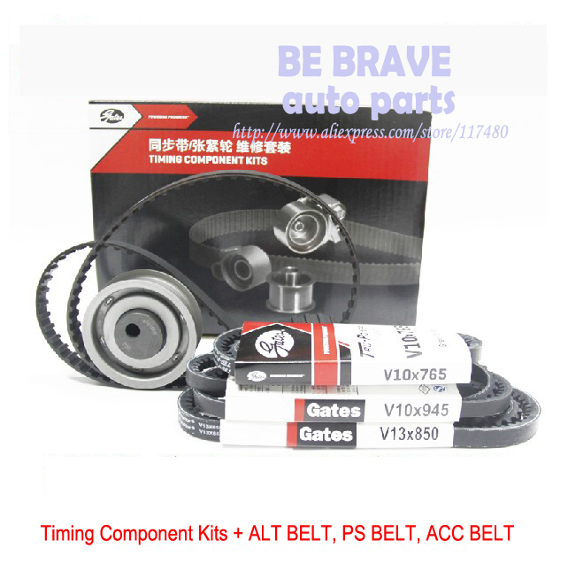 VW GOL Santana Jetta 1 6L engine parts Timing belt pulley accessory belts timing kit