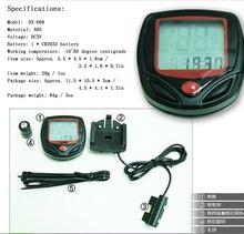 2015 Waterproof Speedometer Mountain Road MTB Cycle Digital LCD Display Cycling Bicycle Bike Computer Odometer Free
