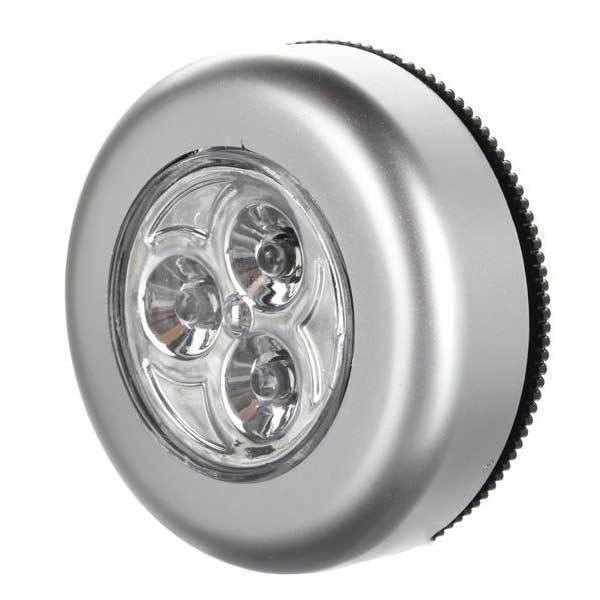 BuyTium Cheap Wireless LED Cabinet Light Closet Lamp Car Inside Bulb Battery Power(China (Mainland))
