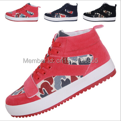 2014 winter new fashion shoes high top sneakers