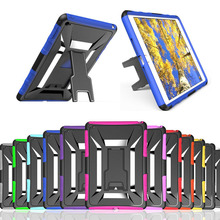 New X desk mount stand holder silica gel TPU + plastic 2 in 1 tablet PC protective for 7.9″ Apple iPad mini 4   back case cover