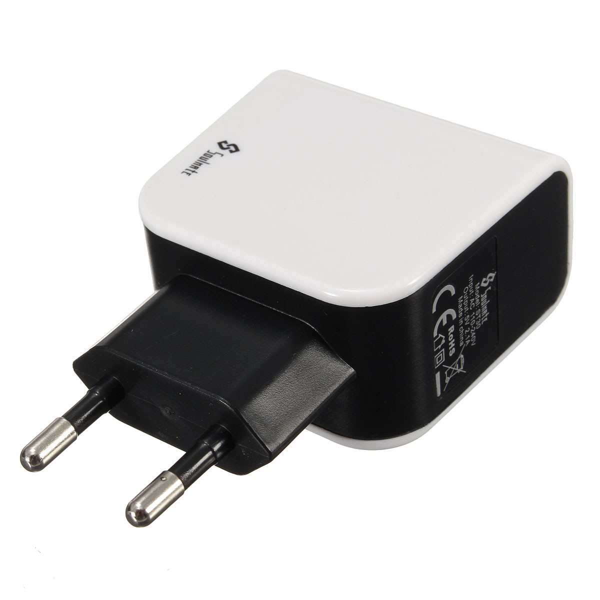 Soulmate ST30 EU Dual Port Micro USB Charger USB Adapter Portable Universal Power Adapter 5V 2.1A(China (Mainland))