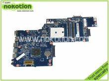 H000041530 Laptop Motherboard for Toshiba Satellite L850D C850 PLAC CSAC UMA MAIN BOARD REV 2.1 AMD DDR3