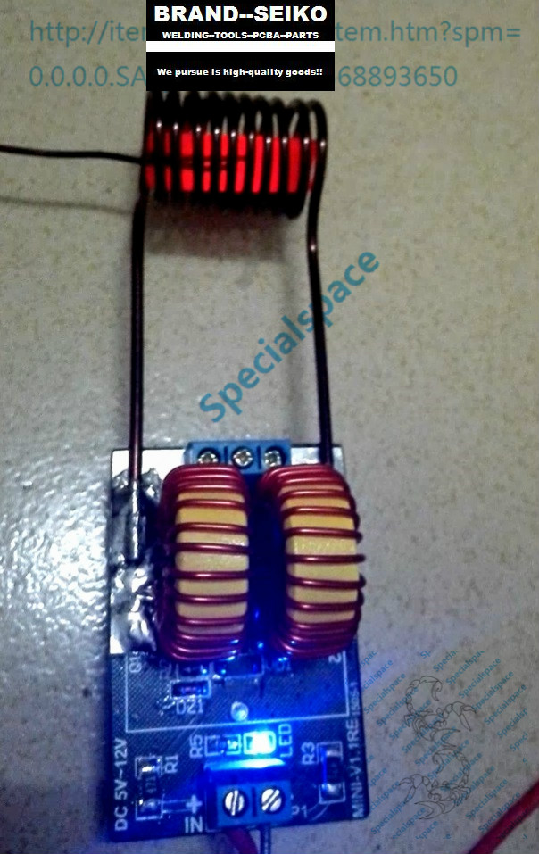 Mini ZVS without tap the finished product Induction heating tesla Jacob Jacobs ladder<br><br>Aliexpress