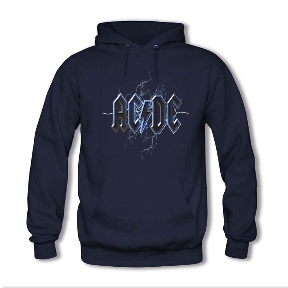 2016 men women brand acdc hip hop skateboard hoodies for Personalized shirts and hoodies