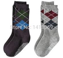 2015 New Arrival Toddlers Boys Cotton Socks High Knee Socks Antiskid Leg Warmer Wholesale(China (Mainland))