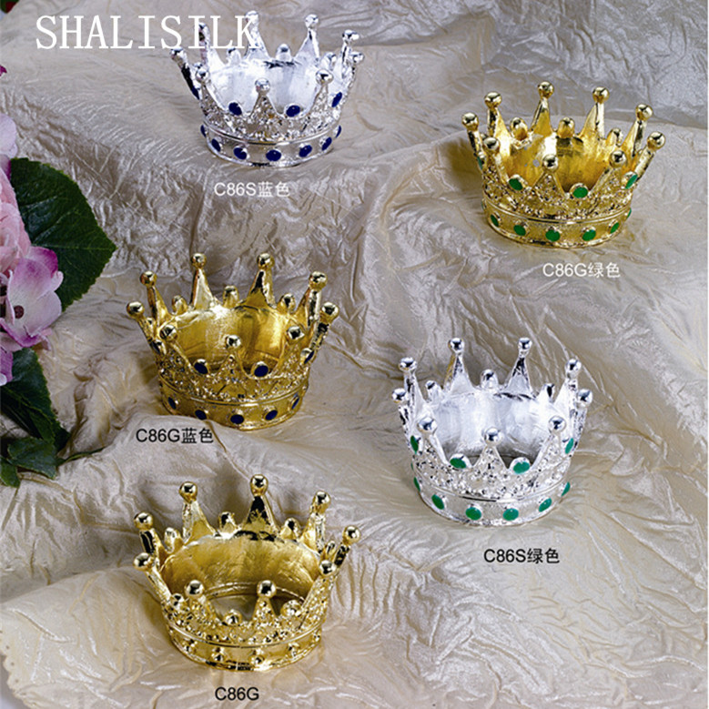Ams07 4 pieces lot kitchen dinning room table decor crown for Crown decorations home