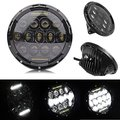 2pcs 75w Headlamp 7 Inch Wrangler Led Headlight with DRL for Wrangler Jk Tj Fj Cruiser
