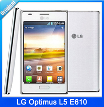 LG Optimus L5 E610 Original E612 Unlocked Cell Phone 3G GPS GSM WIFI Android 4.0 4″ Touch Screen