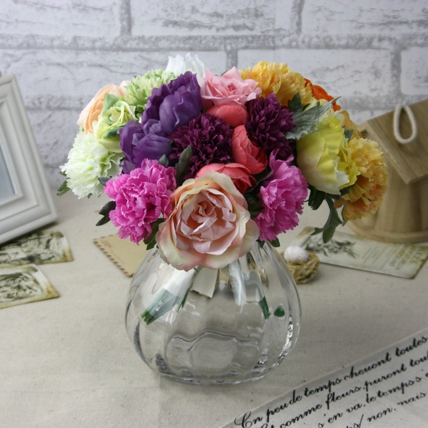 Manufacturers selling high-end home decor gifts to beam simulation flower artificial flower wholesale trade GF15324(China (Mainland))