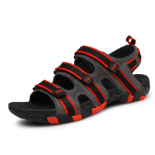Men Sandals Slippers Summer Men Flat Shoes Beach Slippers Sandals Comfortable Outdoor Walking Shoes Casual 2016