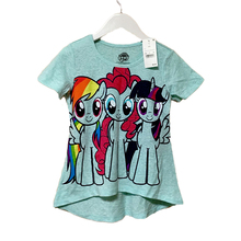 My Little Pony T Shirt Girls Cotton Short Sleeve 4-8y Kids Summer Clothes Children Casual Clothing Tops Tees