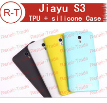 100% Original jiayu s3 Silicon case High Quality Case Cover for jiayu s3 and jiayu s3+ Smart Mobile phone Free Shipping+In Stock