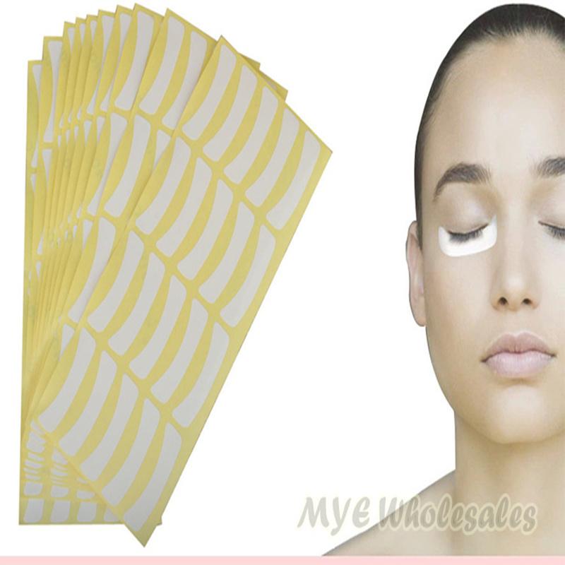 Hot 100pairs/pack Paper Patches Eyelash Under Eye Pads Lash Eyelash Extension Paper Patches Eye Tips Sticker Wraps Make Up Tools(China (Mainland))