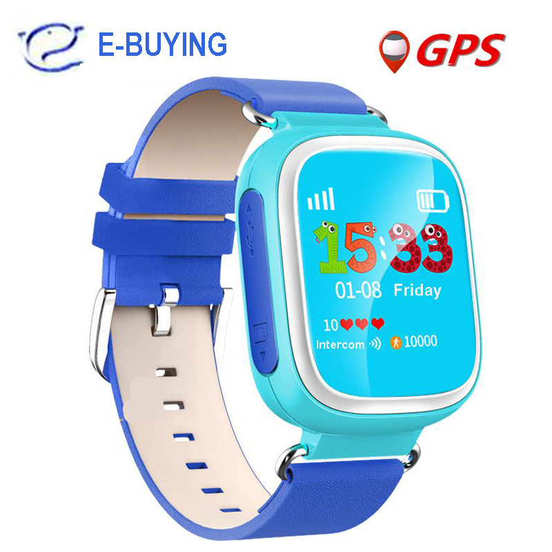 2016 Kid GPS Smart Watch Wristwatch SOS Call Location Device Tracker for Kid Safe Anti Lost Monitor Baby Gift Q80 PK Q50 Q60(China (Mainland))