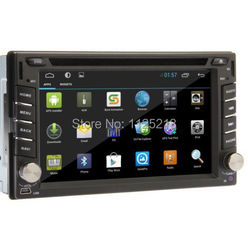 2014 In Dash Universal 2 din Android 4.2 Car DVD player GPS+Wifi+Bluetooth+Radio+1G+DDR3+Capacitive Touch Screen+3G+car pc+aduio(China (Mainland))