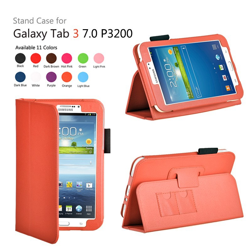 Tablet pouch creative pu leather case for samsung galaxy tab 3 7.0(China (Mainland))