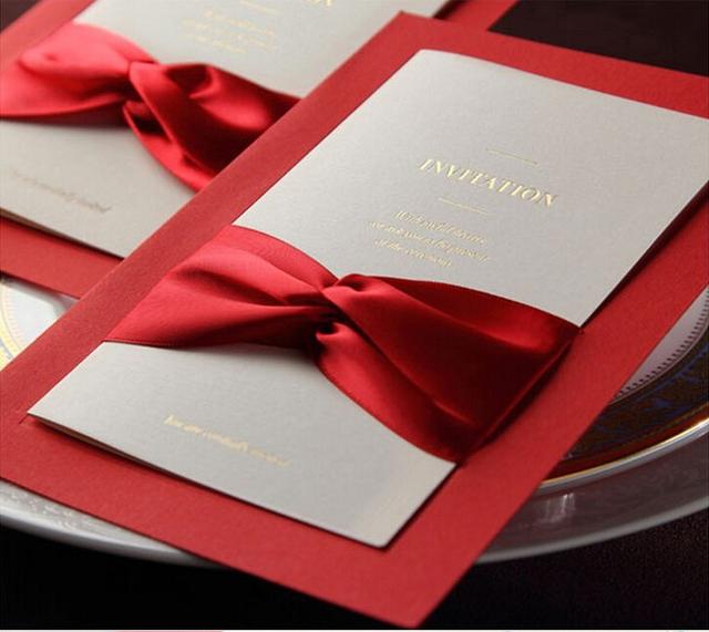 Ribbon Wedding Invitation as perfect invitations ideas