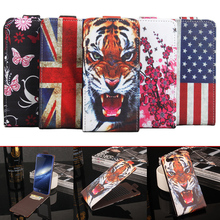 Buy VONKY Elephone S7 Mini Painted Flip Cover PU Leather Sticky Case Phone Case Wallet Cover Elephone S7 Mini for $4.59 in AliExpress store