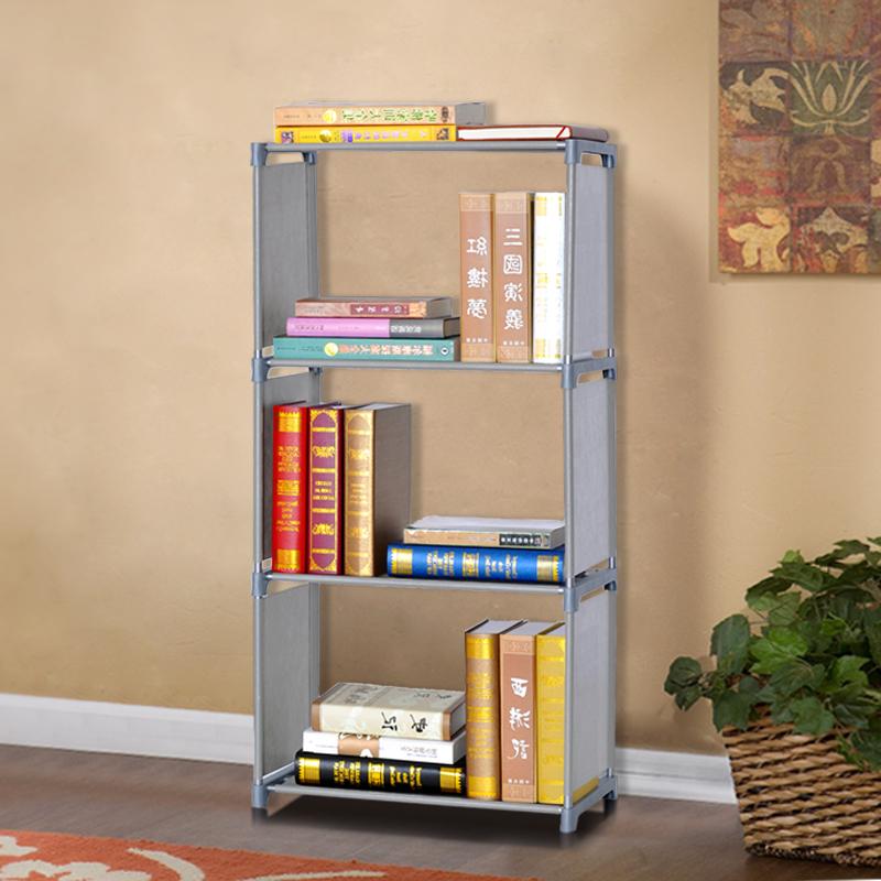 Storage shelving bookcase easy storage rack single bookcase simple bookshelf(China (Mainland))