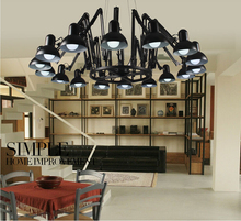Nordic 12 Heads Pendant Lights Aluminium Lampshade Home Decor White lustres de teto 110-240V Fixtures Gifts For New Year